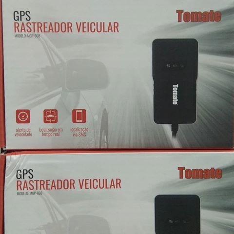 Rastreador Gps Veicular Bloqueador Tomate Mgp-668