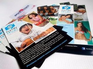 Impresión 1.000 Flyer Volantes Publicitarios Flayer Plegable
