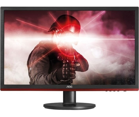 Monitor Led Gamer Aoc 24 E-sports Full Hd 1ms 75hz G2460vq6