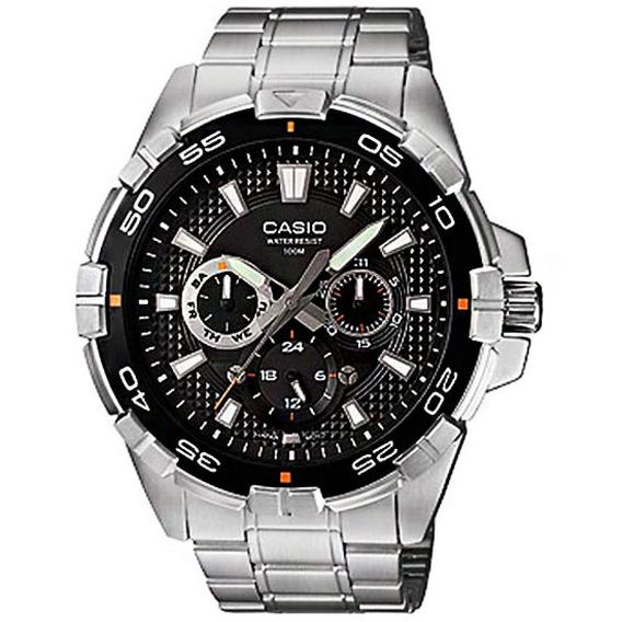 Reloj Casio Hombre Plateado Mtd-1069d-1avdf