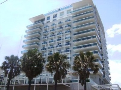 Alquilo Apartamento Amueblado Frente Al Mar Con Gym Y Pisci