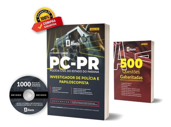 Apostila Pc-pr Investigador De Polícia E Papiloscopista 2020