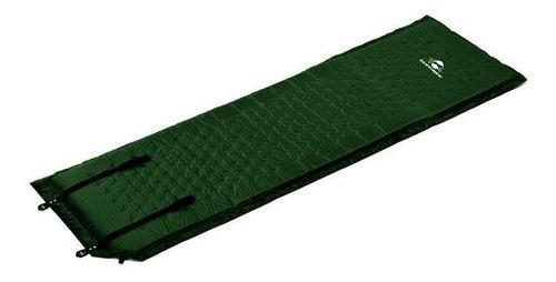 Colchonete Auto-inflável Isolante Térmico Guepardo Verde