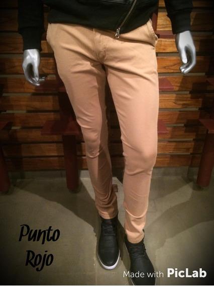 Pantalon Mostaza Gabardina