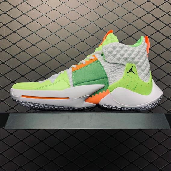 Zapatillas Nike Air Jordan Why Not Zero 2 Light Green