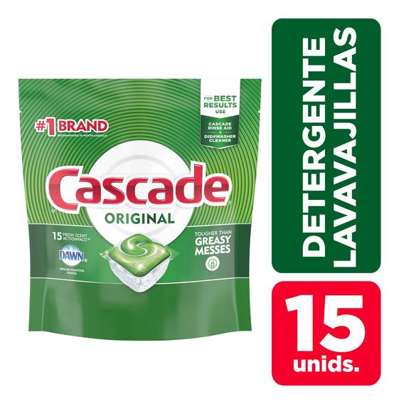 Detergente Para Lavavajillas Cascade Complete Capsulas 15 C/