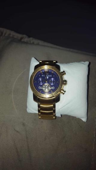 Relógio Bv Bulgari Skeleton Ouro