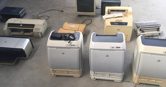 Lote De Impressoras Para Retirar Peças