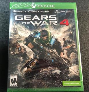 Gears Of War 4 Xbox One ( Sellado ) Envíos Grátis Y Rápido