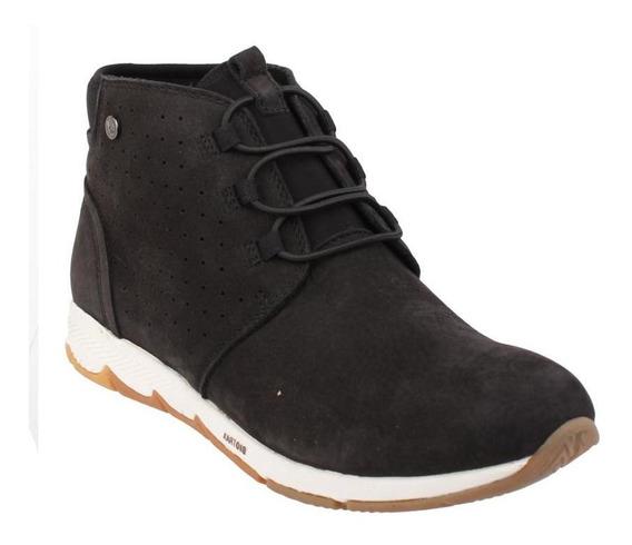 Botin Mujer Hush Puppies Cesky Boot Black[111 Comfort Fas