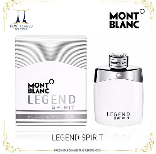 Mont Blanc Legend Spirit 100 Ml Dos Torres Boutique.