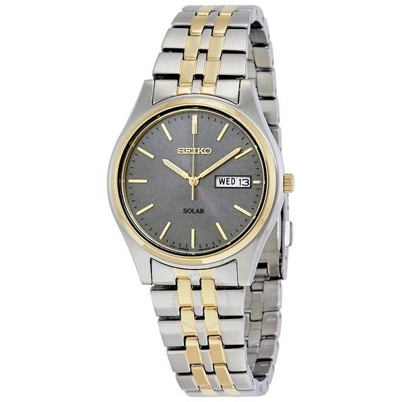 Relógio Masculino Seiko Sne042 - Solar