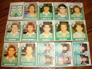 Lote Completo Figuritas Ferro Carril Oeste Album Futbol 1992