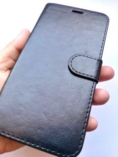 Capinha Samsung Galaxy J8 J810 Carteira + Película 5d Gel