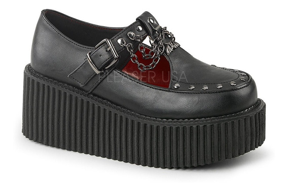 Zapatos Dark Alternativo Rock Punk Demonia Creeper 215