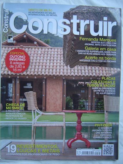 Revista Construir Nº166 - 19 Revestimentos Louças E Metais.