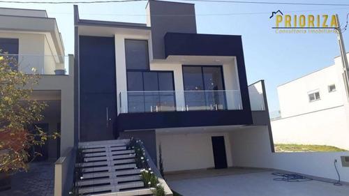 Imagem 1 de 20 de Casa Com 3 Dormitórios À Venda, 196 M² Por R$ 1.017.600,00 - Condomínio Portal Da Primavera - Sorocaba/sp - Ca0429