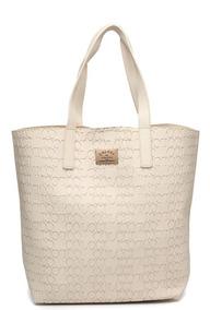 Bolsa Shopper Colcci Textura Bege - Nova E Original