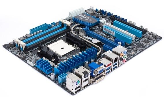 Asus F2a85-v Pro Sqt Amd Fm2 Sata 6gbs/usb3/cross/hdmi/ddr3
