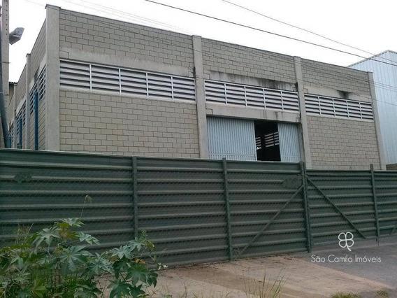 Galpão Para Alugar, 415 M² Por R$ 6.500/mês - Vila Jovina - Cotia/sp - Ga0050