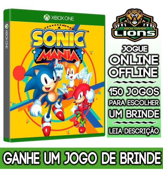 Sonic Mania Xbox One + Brinde