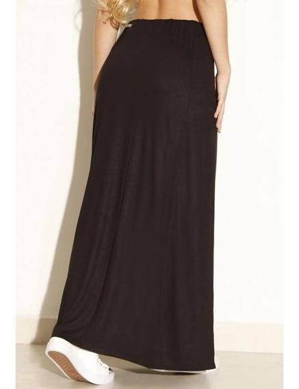 Falda Larga De Color Negro , O Tambien Del Color Que Deseen