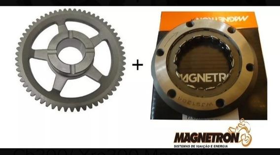 Colar Partida+engrenagem Cb300/xre300 Original Magnetron