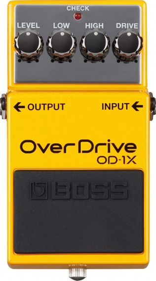 Pedal Boss Od-1x | Overdrive | Para Guitarra