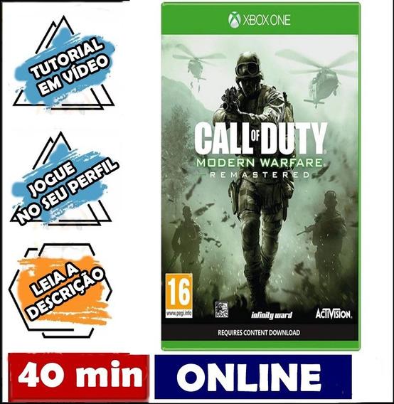 Call Of Duty Modern Warfare Remastered Xbox One Conectado