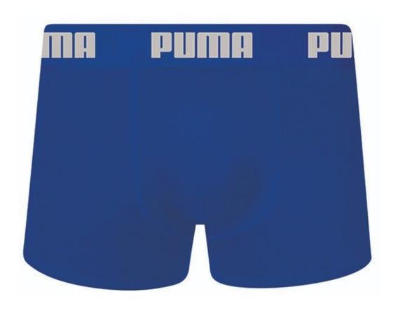 Cueca Boxer De Cotton Da Puma Original