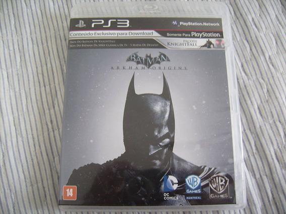 Game Batman: Arkham Origins Do Playstation3