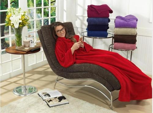 Cobertor Mangas De Tv E Sofá - De 179,90 Por 79,90 | Mercado Livre