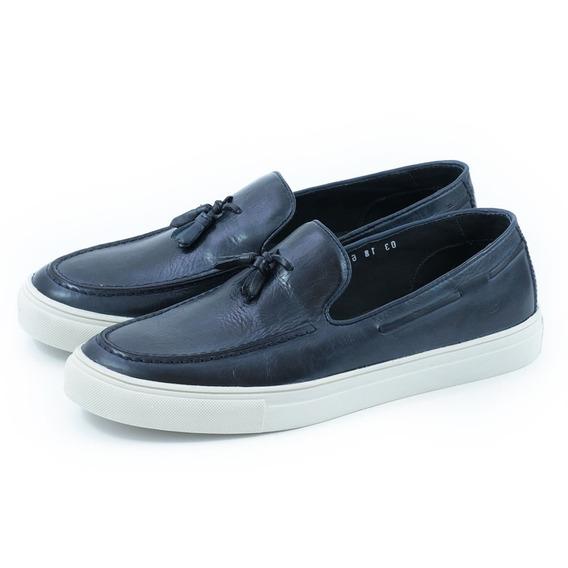 Sapato Casual New Iate Bambolim Marinho