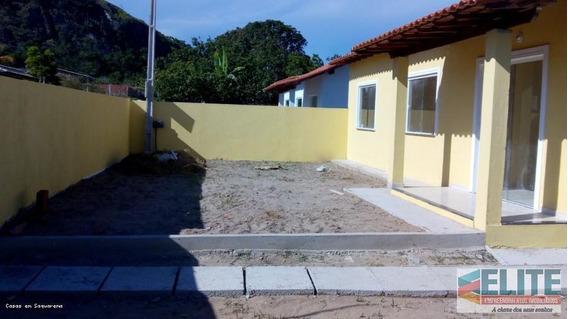 Casa Para Venda Em Araruama, Itatiquara, 3 Dormitórios, 1 Suíte, 2 Banheiros - E062