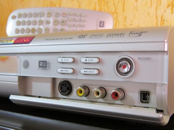 Gravador De Mesa Philips Dvd R3355 Com Controle Remoto