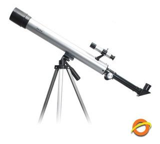Telescopio Refractor Daza Aluminio Lentes Terrestre Y Lunar