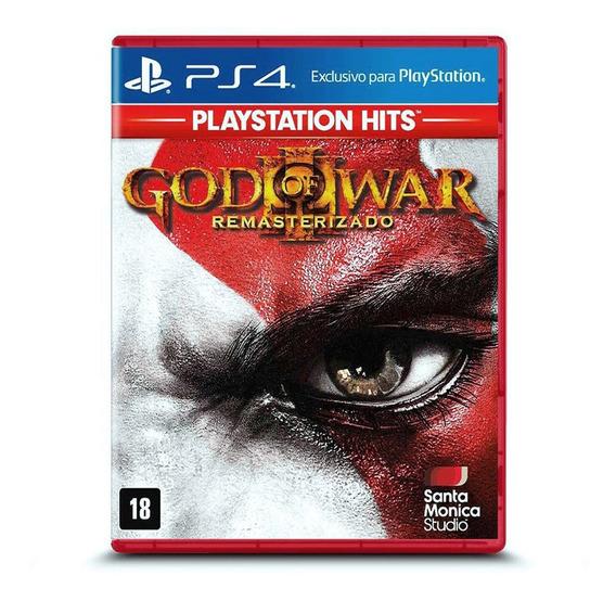 God Of War 3 Remastered Ps4 - Lacrado - Frete Grátis Módico