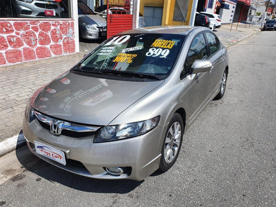 Honda Civic 2010 1.8 Lxl Flex Aut. 4p Honda Civic 2008