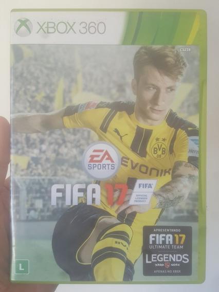 Fifa 17 2017 Original Mídia Física Xbox 360 - Frete R$12