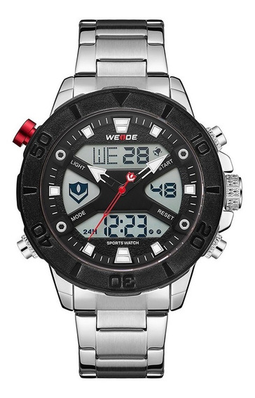 Weide Wh8503 Dual Display Two Digital Movement Quartz Men
