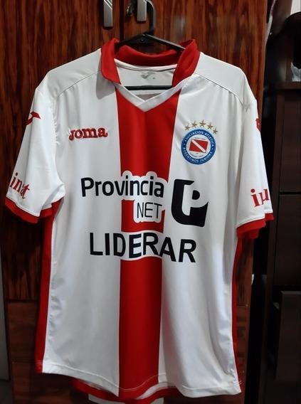 Camiseta Argentinos Juniors 2016 Lobo Ledesma
