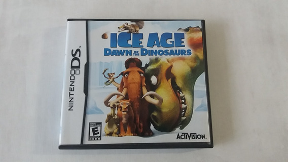 Ice Age Dawn Of The Dinosaurs - Nintendo Ds