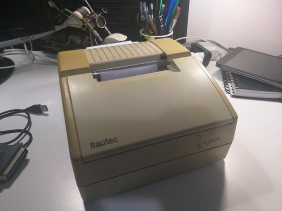 Impressora Matricial Itautec + Adaptador Usb + 10 Bobinas