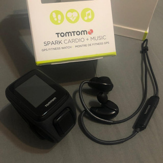 Relógio Tomtom Spark Cardio + Music Preto