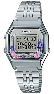 Reloj Casio Mujer La-680wa Flores Vintage Wr Impacto Online