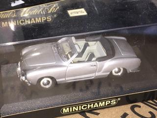 1:43 Minichamps Karmann Ghia Cabriolet 1957 Volkswagen Volks