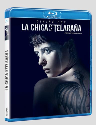 La Chica En La Telaraña Bluray Nuevo Original Cerrado