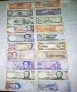 Billetes Venezolanos De Colección
