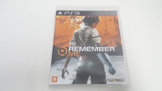 Jogo Remember Me - Ps3 - Original - Mídia Física