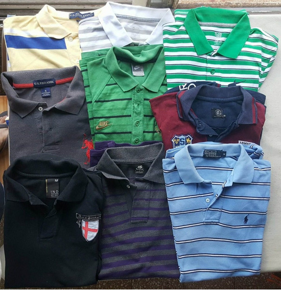 Chombas Polo Y Nike Impecables